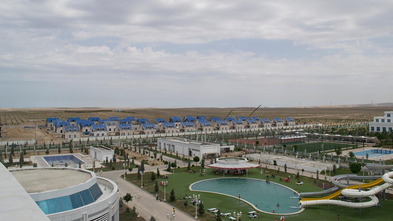 Prefabrik Yapı A.Ş. Türkmenistan'da 48 Hafif Çelik Villanın Ön Üretimini Yaptı